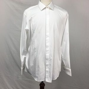 Ted Baker White Fedra Endurance Button Down Shirt